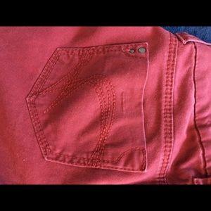 Freestyle Revolution lipstick red pants